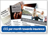 15 per month towards insurance