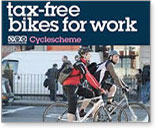 Subsidised bikes - cycle to work scheme